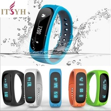 ITSYH Smartband Health fitness tracker Sport Bracelet Waterproof Wristband for IOS Android flex Smart Band Bluetooth JS-YLS0002