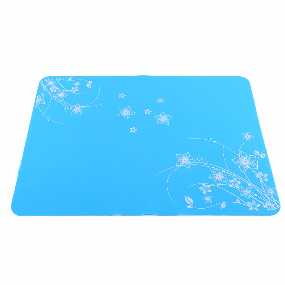 W 1PC Silicone Kitchen Placemats Non slip Insulation Baking Mats ...