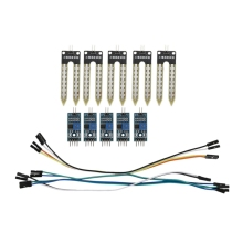 цена на 5pcs Soil Moisture Hygrometer Module for Moisture Arduino Wire Water Sensor Detection TE215