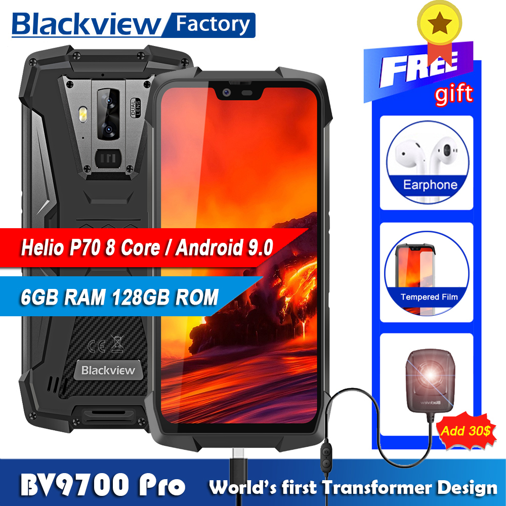US $399 99 |Blackview BV9700 Pro IP68 Waterproof Helio P70 6GB+128GB  Smartphone 16MP Night Vision Camera Android 9 0 Rugged Mobile Phone-in  Cellphones