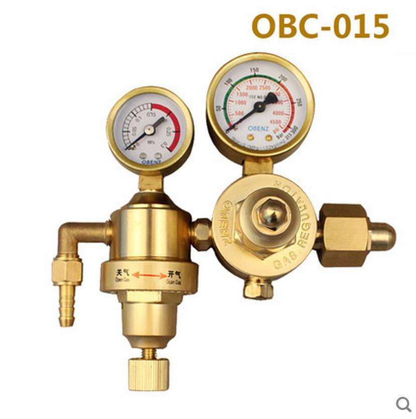 Welding Gas Meter Argon Pressure Flow Regulator TIG Weld Gauge Gas Flowmeter
