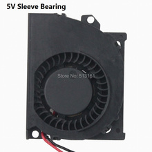 20 Pieces 2Pin XH2.54 5cm 50x40x10mm Radial PC Computer 5V DC Blower Fan Cooler