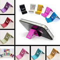 5pcs universal phone holder For samsung note 5 Smart phone stand Holder Aluminum alloy Phone Stand For iphone Random color
