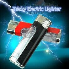 3 шт. электрошок зажигалки Шокирующая ручка шалость игрушка кляп подарки снятие стресса горячие игрушки розыгрыши