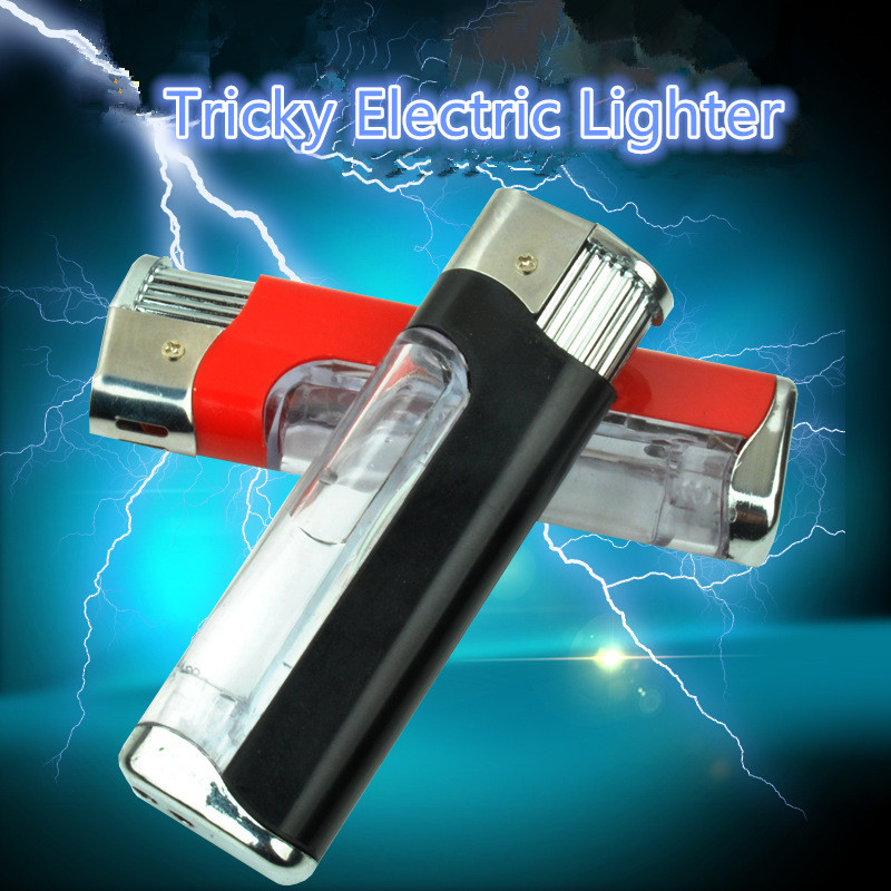 3pcs Electric Shock Cigarette Lighters Shocking Pen Prank Toy Gag Gifts Stress Relief Hot Toys Practical Jokes