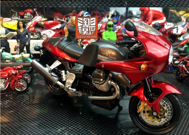 1:12 alloy motorcycle model toys, high simulation Guz motorcycle, high quality collection model, free shipping
