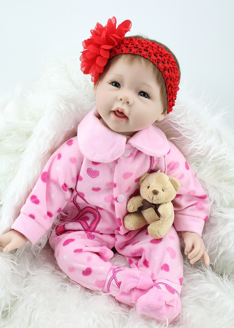 2015 NEW hot sale lifelike reborn baby doll very soft silicone vinyl fashion doll Christmas gift old gift