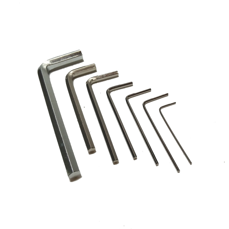 SHENLIN Allen wrench metal Hex key spanner 0.9/1.27/1.5/2/3/4/5/6mm hex spanner machine accessory screwing tool machine tool