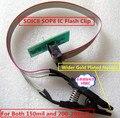Ampla Ouro Agulha Clipe de Teste SOIC8 SOP8 IC/IC flash clip Para BIOS 93/25/24 TL866CS TL866A EZP2010 RT809F Programador EZP2013 uso