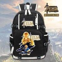 The Legend of Zelda LINK backpack schoolbag for teenagers Laptop Bookags Travel Bag Casual Shoulder Bag Unisex Fashion Rucksack