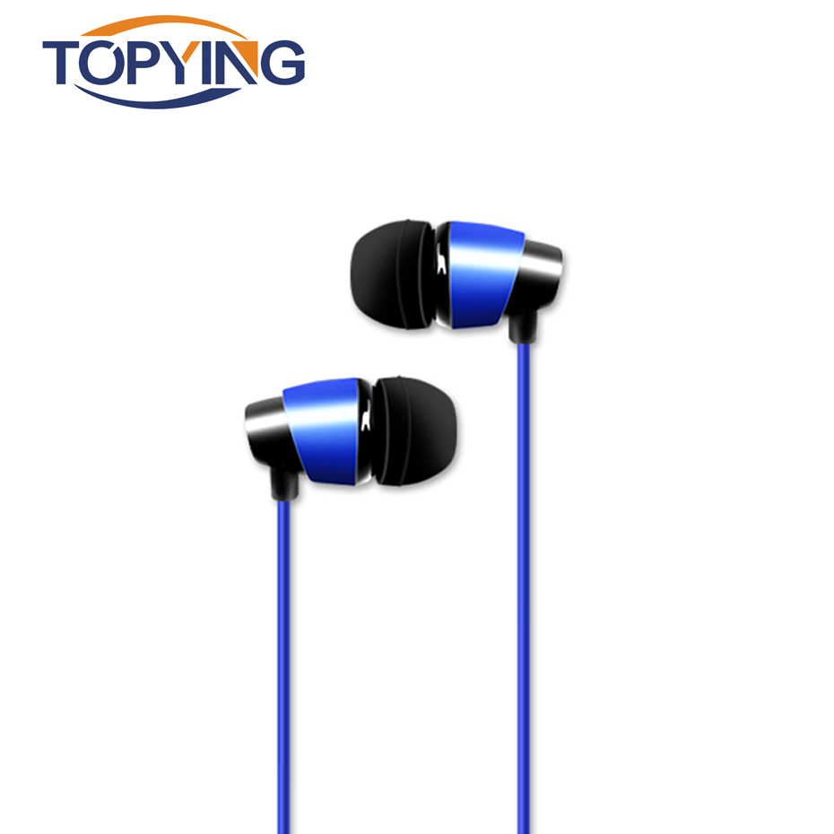 TOPYING Wired Earphone Dynamic Vocalism Principle Earphone For Call High Precision Wired ...
