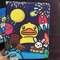 Tablet Case for Apple ipad Pro 9.7 Rubber Duck prints PU leather protective Cover multifunctional stand shell coque para capa