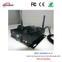 Автобус MDVR 4 г GPS WI FI автомобиля видео CCTV Мониторы хост 4ch SD карты мобильного DVR