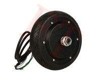 36v 350W 6 hub motor wheel ,skateboard electric motor without brake