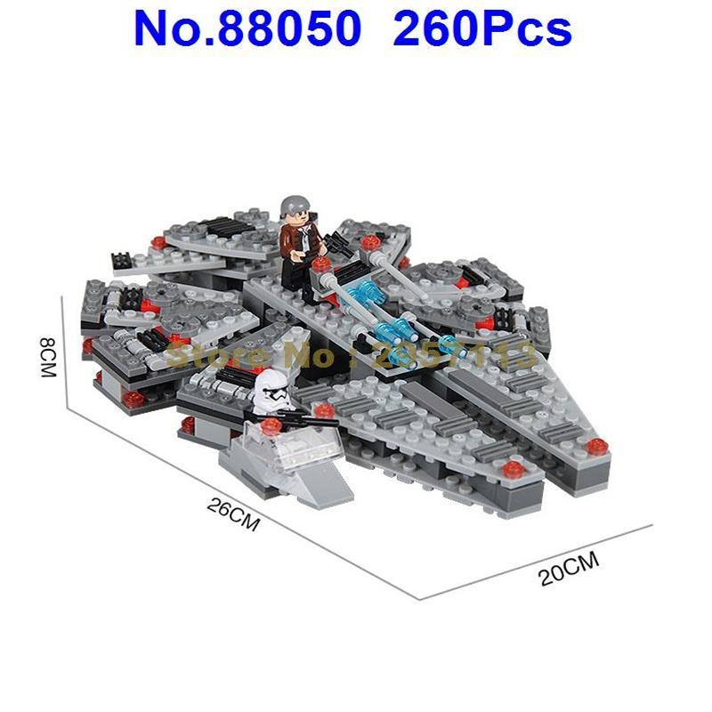 88050 260pcs Star Wars Millennium Falcon Building Block Compatible