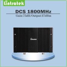 Potencia de Salida 75dB ganancia 27dBm repetidor de señal de 1800 mhz repetidor de sinal celular 1800 mhz DCS amplificador de señal con LCD/AGC/MGC