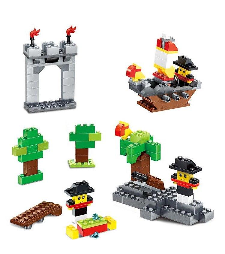 625st byggnadsblock DIY kreativa tegelstenar Leksaker för barn Pedagogiska leksaker Kompatibla tegelstenar brinquedos gratis frakt