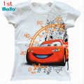Hot the new spring 2015 cotton top-grade cartoon t-shirts, children's wear t-shirts short sleeve baby T-shirt