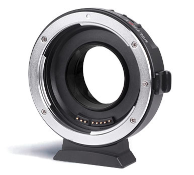Viltrox EF-M1 Metal Electronic Auto Focus Lens Adapter on M43 series cameras for Canon EF-mount EF-S series lens