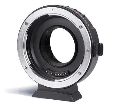 Viltrox ef-m1 metall elektronische autofokus-objektiv adapter auf m43 serie kameras für canon ef-mount ef-s serie objektiv
