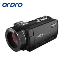 Ordro Moveable Digital Video Digital camera HDV-Z20 1080p 30fps FHD Camcorder Constructed-in WIFI Distant Management Help HDMI output