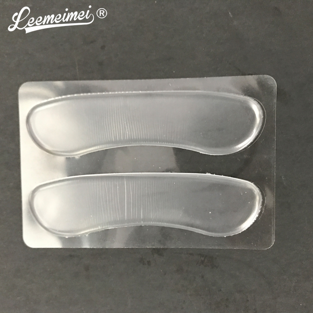 2pairs/lot Fashion Silicone Gel Heel Cushion protector Shoe Insert Pad Insole new fashion brand new 3 pair fashion silicone gel heel cushion protector shoe insert pad insole free shipping for gift