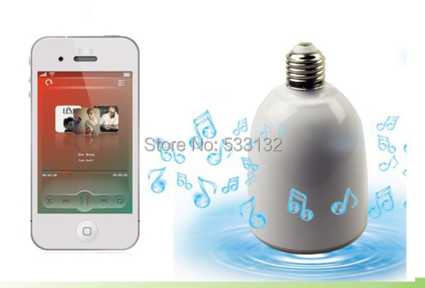 ФОТО Musical Smart LED lighting Bluetooth speak Moble APP dimmer