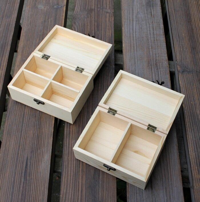 ZAKKA продуктовый стиль твердой древесины для хранения с небольшой деревянный ящик стол органайзера