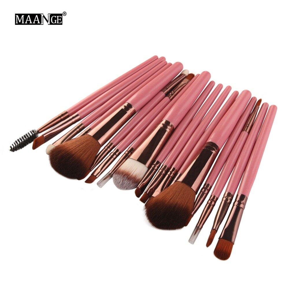 6/15/18Pcs Makeup Brushes Tool Set