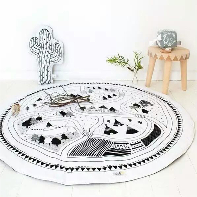 Nordic Padded Play Rugs