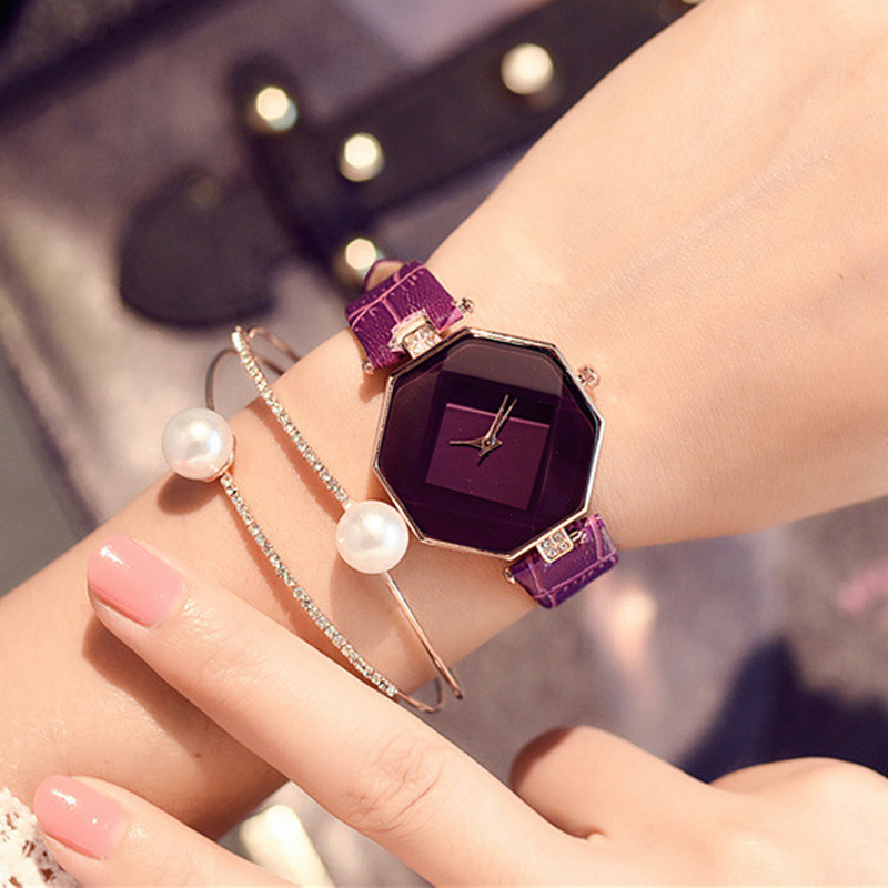 Fashion Women Watches Rhinestone Bracelet Lady Dress Watch Crystal Wristwatch Quartz Clock reloj mujer relogios feminino 2018 new fashion bracelet watch quartz women lady dress wristwatch horloges vrouwen gift box free ship