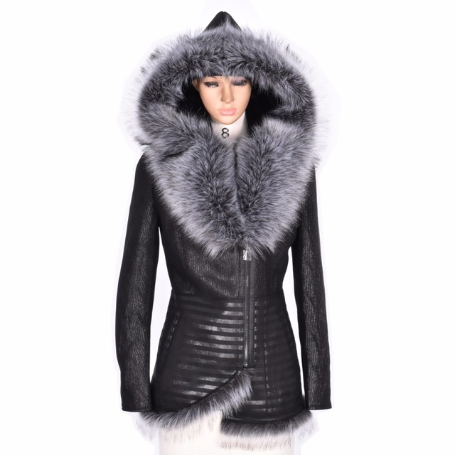 5dd68a36e5677 Factory direct supply Winter women coat fur Faux suede thick 2017 new  fashion Slim big size