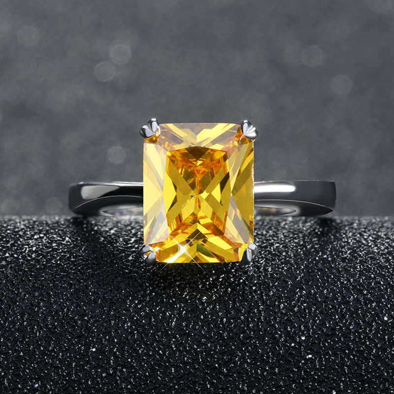 ORSA JEWELS 2019, роскошные серьги с цирконием, набор с желтым австрийским кубическим цирконием 4 карата, фантастический женский ювелирный набор OS69