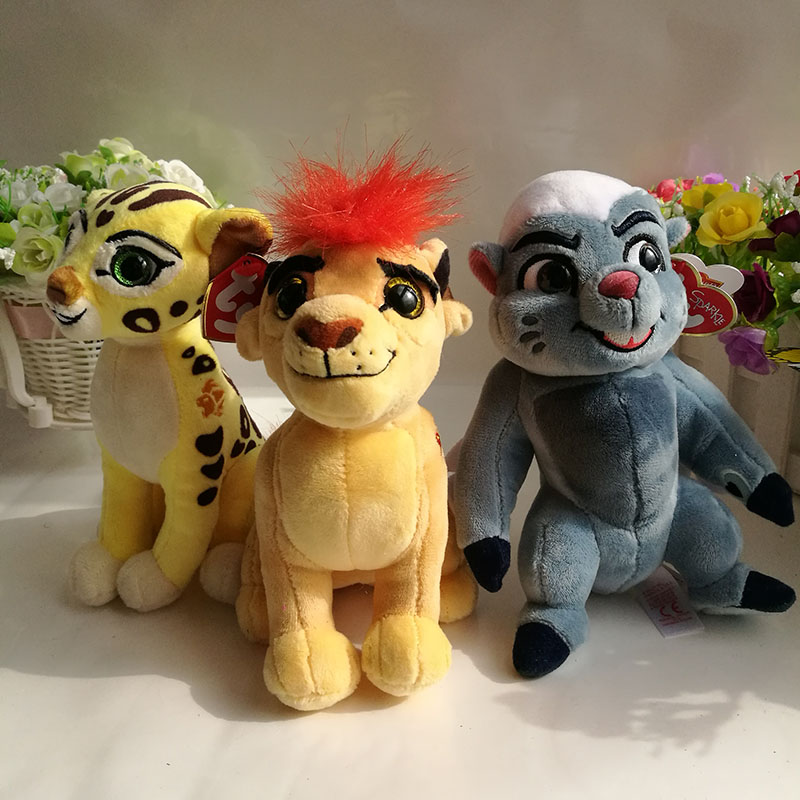 9cb2066cf1e The Lion Guard Plush toy 15CM KION FULI cheetah BUNGA beshte hippo ...