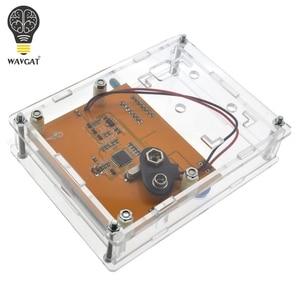 Image 4 - Boîte de LCR T4 WAVGAT boîtier de boîtier de LCR T3 en acrylique transparent pour testeur de Transistor LCR T4 ESR SCR/MOS LCR T4
