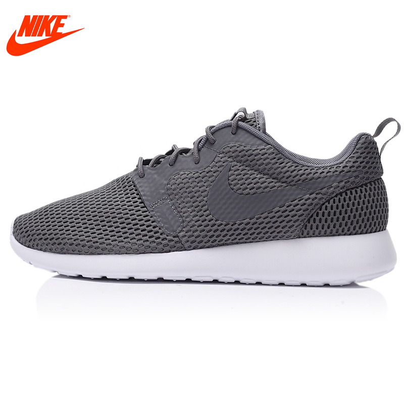 Intersport Original New Arrival Authentic Nike ROSHE ONE Men's Mesh Breathable Light Running Shoes Sneakers nike wmns roshe one flyknit