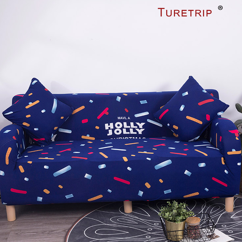 Turetrip Printing Elastic Sofa Cover Soft Fabric Slipcovers For Couch Cover Canape Armrest Covers For Child Sofas Living Room