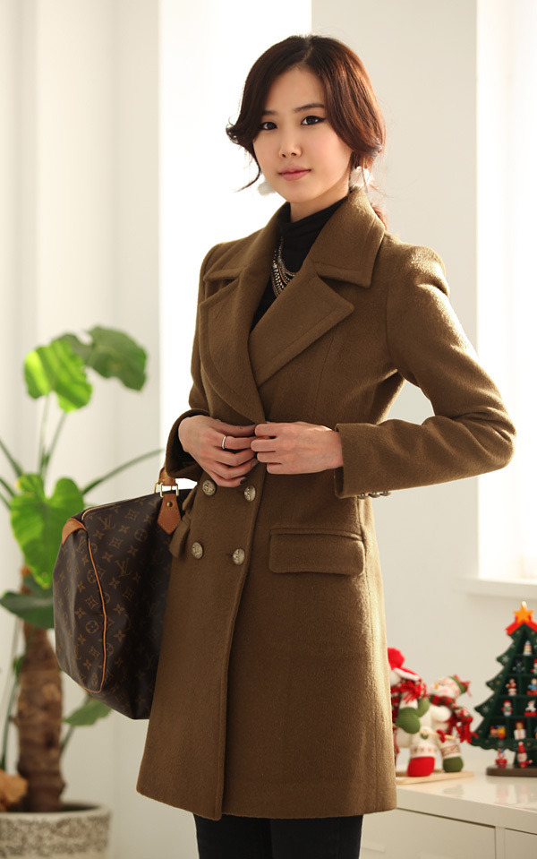 Aliexpress.com : Buy 2013 double breasted Winter Long Wool Coat ...