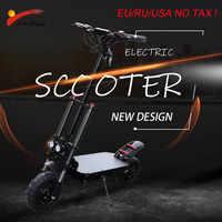 "Fern 105km Elektrische Roller 11 ""80 km/h Motor Rad 35AH Lithium-Batterie Erwachsene Faltbare Longboard Hoverboard Skateboard"