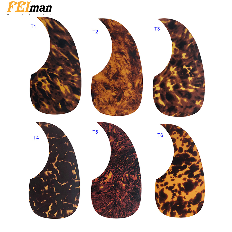 Pleroo Guitar Accessories Acoustic Pickguard Quality Self Adhesive MT D28 Style Pick Guard Sticker For 40