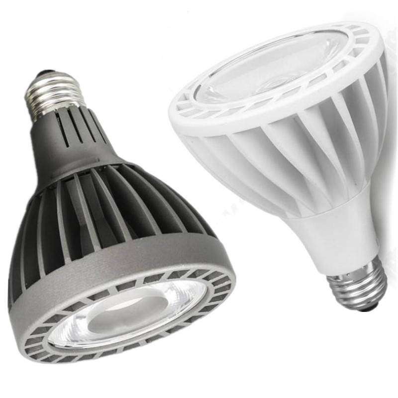 COB LED Light <font><b>Par30</b></font> <font><b>E27</b></font> Spotlight 30W <font><b>Par30</b></font> Lamp Brand quality led Bulb Warm|Cold White AC85V-265V by Express Free Shipping image