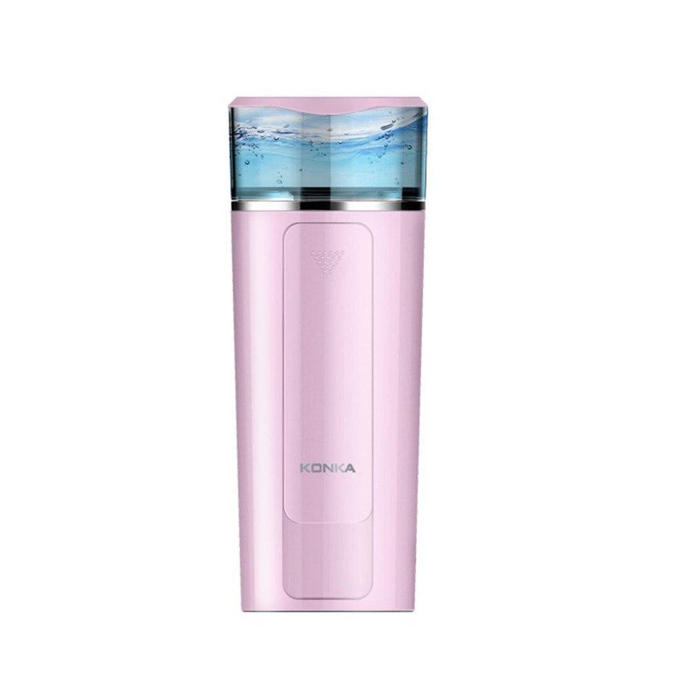 Mini USB Portable Ultrasonic Humidifier Air Diffuser Mist Maker DC 5V ABS Bottle Led Light For Home Office Car