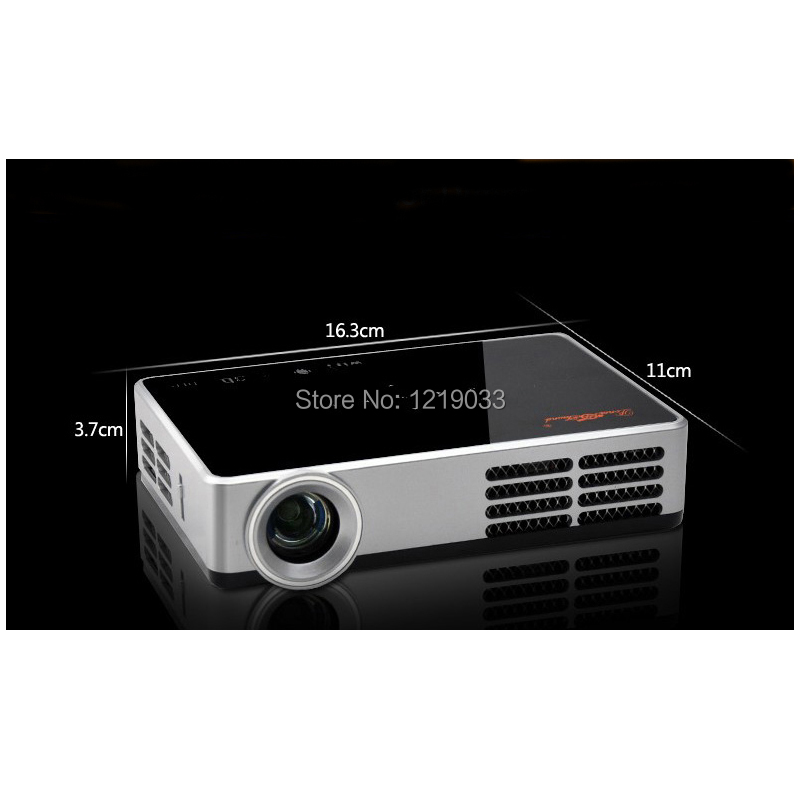 2017 New DLP 5200Lumens WiFi Android 4.4 3D Smart LED Projector Full HD 1080P Teaching Office Home Theater - Amu Electronics Co., Ltd. store