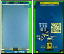 NoEnName_Null 4.3 inch TFT LCD Capacitive Touch Screen Module NT35510 Drive IC OTT2001A Touch IC 800*480 IIC Interface