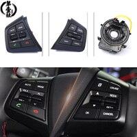 A set For Hyundai creta IX25 Audio Radio Control Cruise Control Switch Steering Wheel Switch Button Bluetooth phone with wire