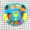 Рекламная игрушка, музыкальные инструменты для детей, Детский Музыкальный руль, Развивающие игрушки, подарок для детей DS19