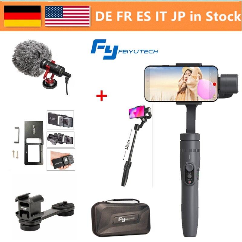 FeiyuTech Vimble 2 карданный, 3 оси Выдвижная стабилизатор на шарнирном замке для смартфона для iPhone X/8/7 Plus/HUAWEI/samsung Smartphon