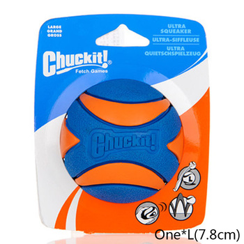 HOOPET Pet Dog Puppy Squeaky Chew Toy Sound Pure Natural Non-toxic Rubber Outdoor Play Small Big Dog Funny Ball 13