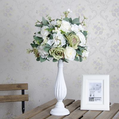 10 Pcs 65 Cm Of Tall Wedding Centerpieces Vase With Flower Wedding