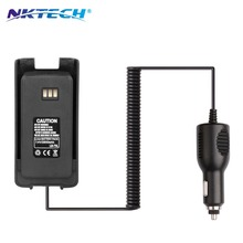 NKTECH NEW Radio Walkie Talkie MD390 Li-ion Battery Pack 7.4V 2800mAh for TYT MD-390 IP67 Waterproof DMR Digital Walkie Talkie